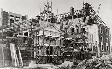 Construction began